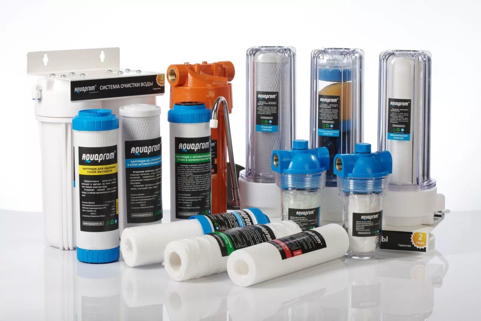 Фильтры для очистки воды и минерализация